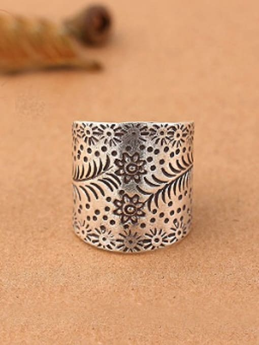 Peng Yuan Thai style Handmade Silver Ring