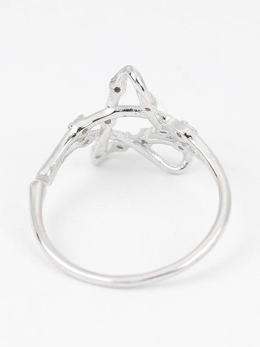 Peng Yuan Fashion Hollow Stars Zircon Ring 2