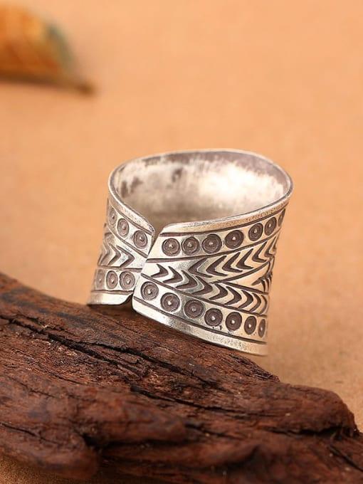 Peng Yuan Ethnic style Silver Handmade Ring 2