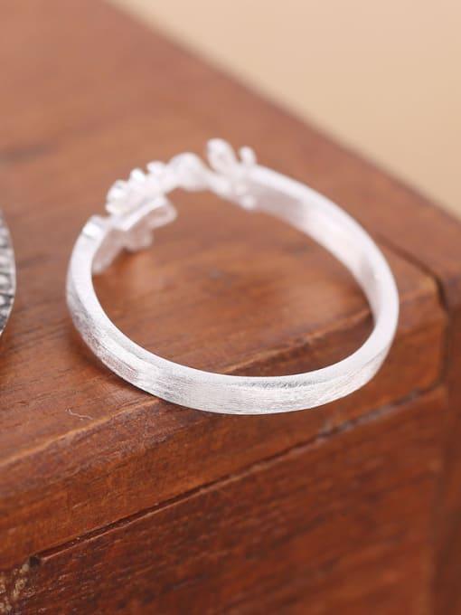 Peng Yuan Double Heart shapes Love Opening Midi Ring 2
