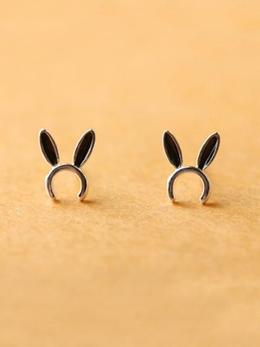 Peng Yuan Tiny Bunny Ears stud Earring