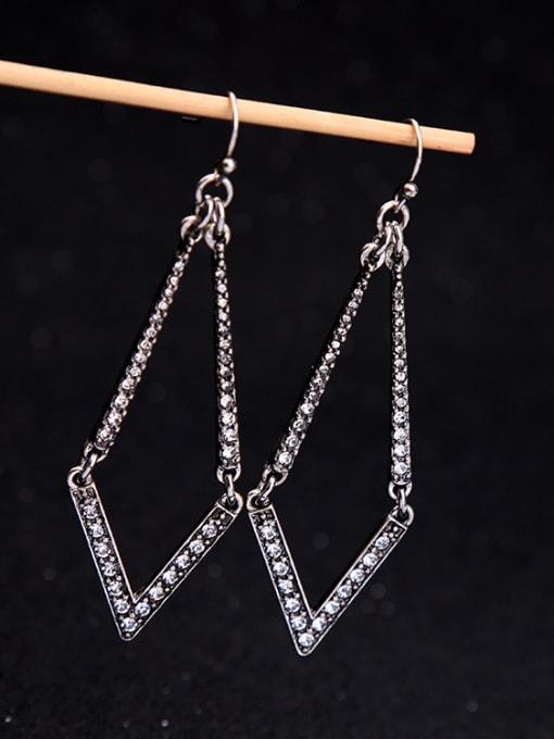 KM Diamond Shaped Women Ear Hook 1