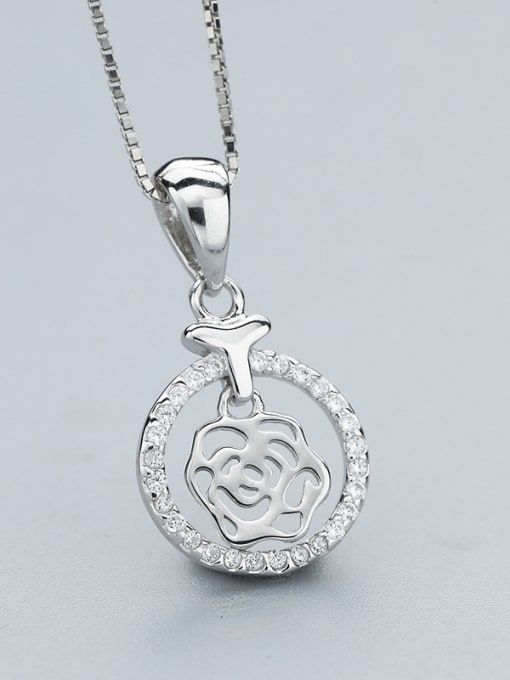 One Silver S925 Silver Necklace 2