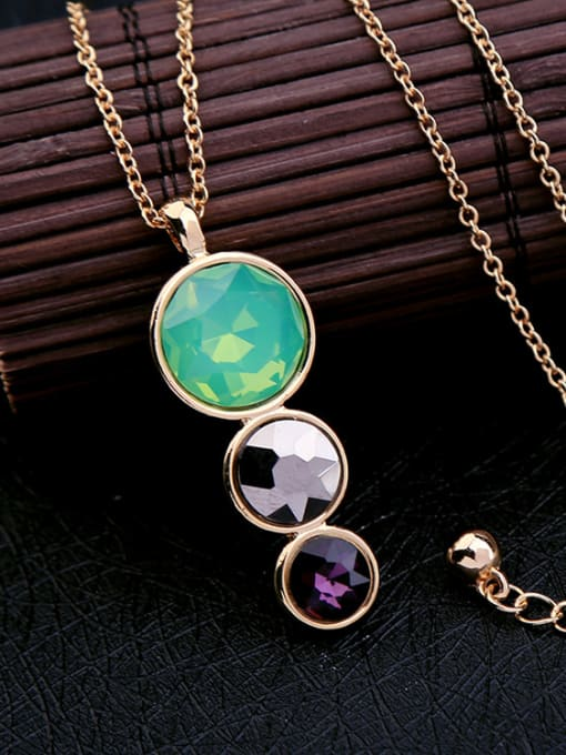 KM Women Simple Style Short Necklace 1