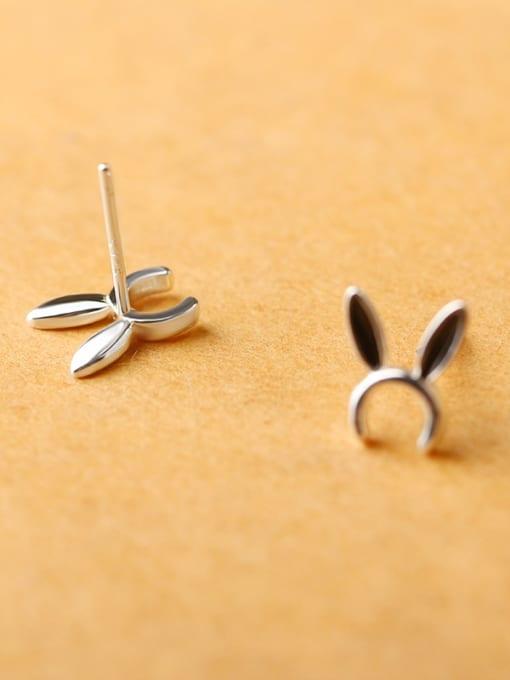 Peng Yuan Tiny Bunny Ears stud Earring 2