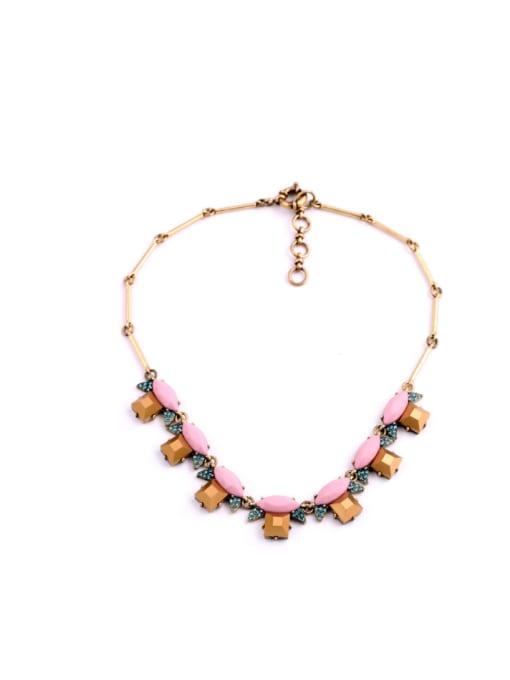 Pink Fashion All-match Women Necklace