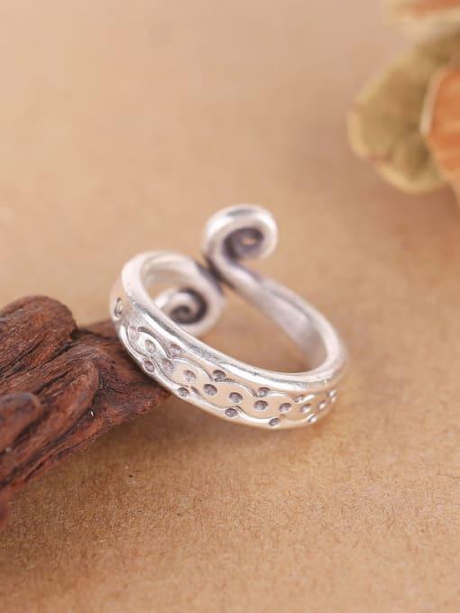 Peng Yuan 2018 Personalized Silver Handmade Opening Ring 1
