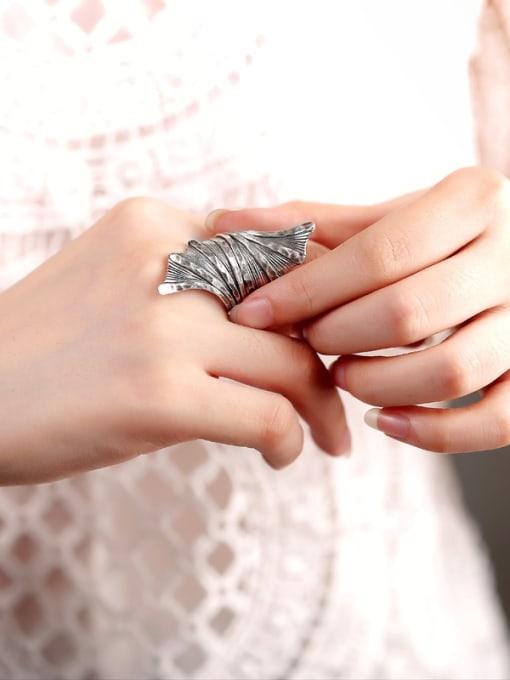 Peng Yuan Punk style Personalized Handmade Ring 1