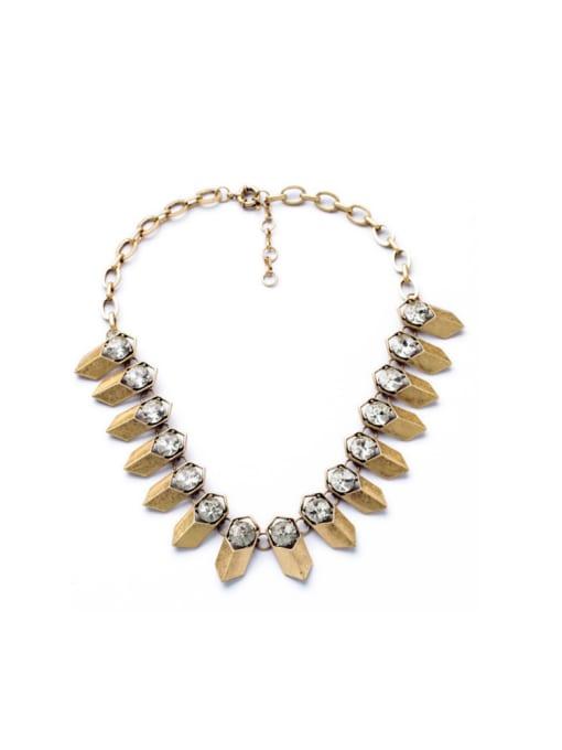 KM Punk Fashion Luxury Women Necklace 0