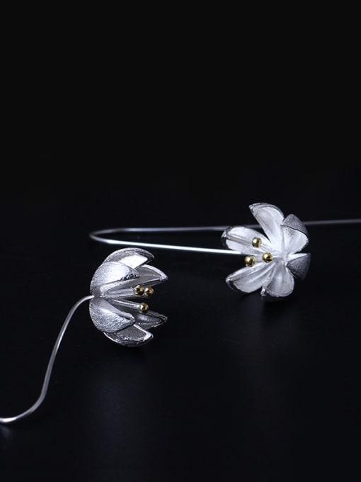 SILVER MI S925 Silver Fashion Women Hook hook earring 1