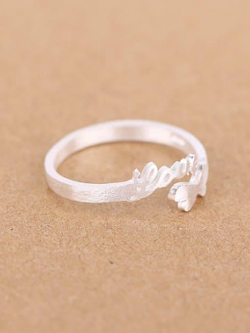 Peng Yuan Double Heart shapes Love Opening Midi Ring 1