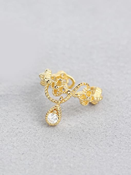 Peng Yuan Classical Gold Plated Clip On Earrings 1