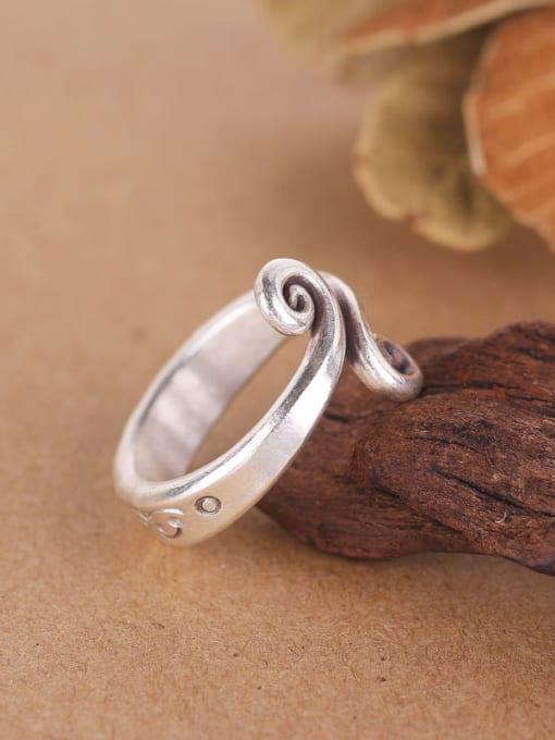 Peng Yuan 2018 Personalized Silver Handmade Opening Ring 2