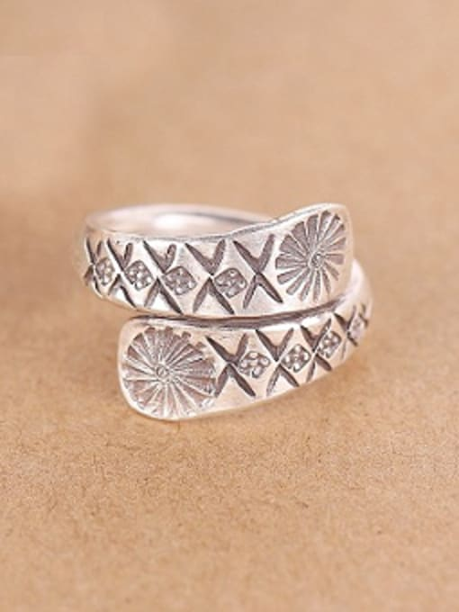 Peng Yuan Personalized Sterling Silver Handmade Ring