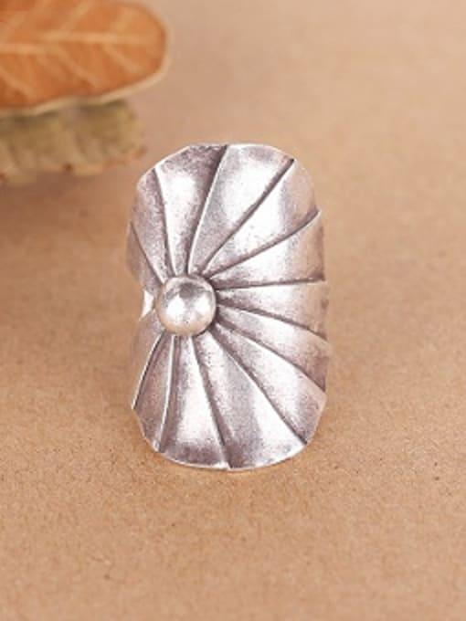 Peng Yuan Ethnic style Thai Silver Ring