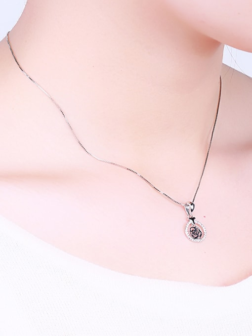 One Silver S925 Silver Necklace 1