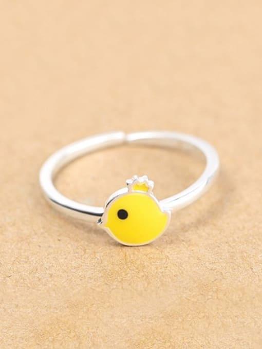 Peng Yuan Little Yellow Chick Opening Ring 0