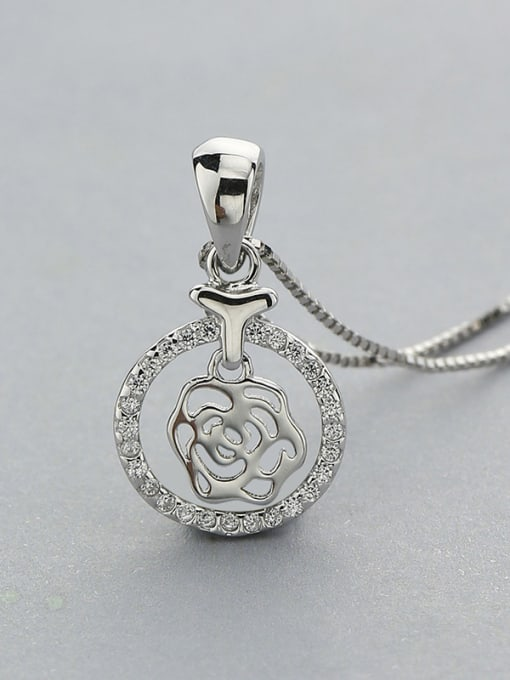 One Silver S925 Silver Necklace 0