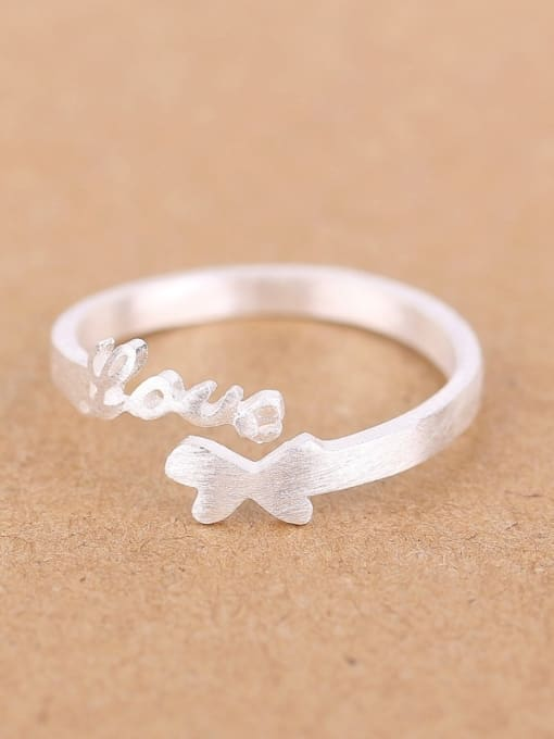 Peng Yuan Double Heart shapes Love Opening Midi Ring 0