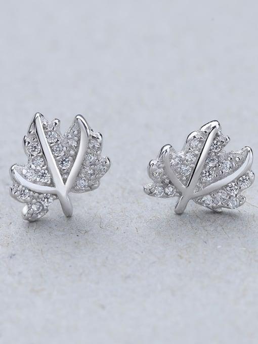 G Women 925 Silver Elegant stud Earring