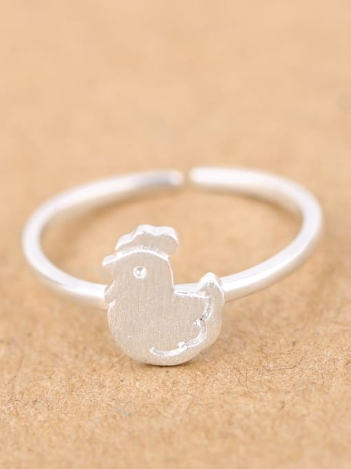Peng Yuan Little Chick Silver Opening Plated