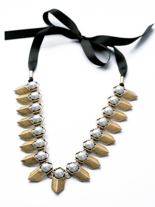 Braided Chain Punk Fashion Luxury Women Necklace