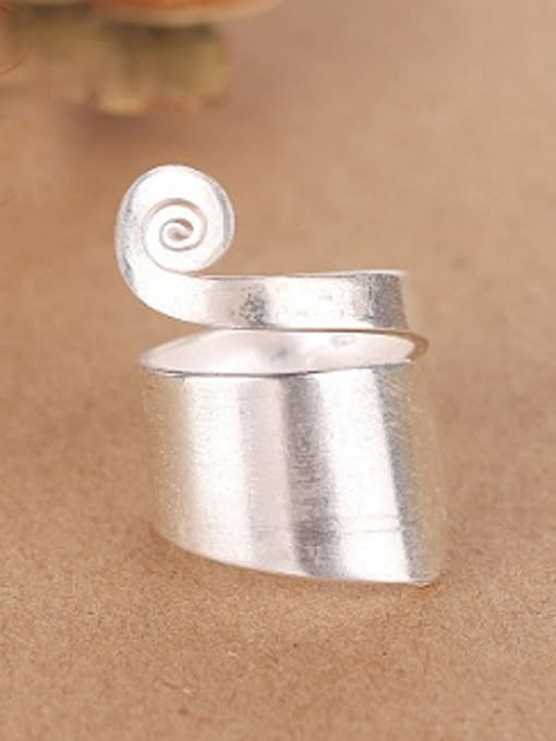 Peng Yuan Personalized Silver Handmade Unisex Ring 0