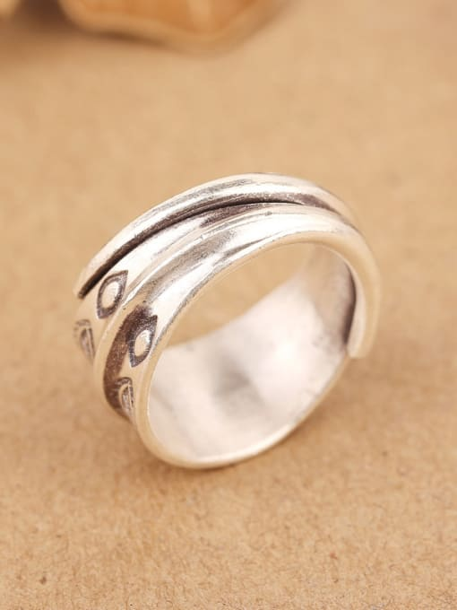 Peng Yuan Personalized Little Fishes Opening Handmade Ring 4