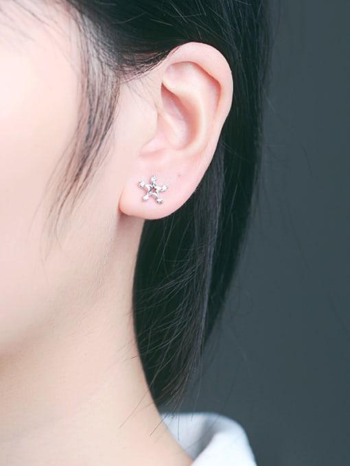 Peng Yuan Fashion Star Rhinestones Stud cuff earring 1