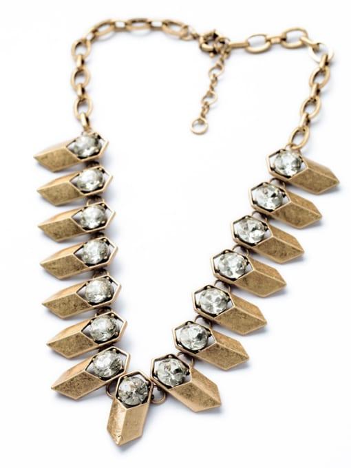 Metal Chain Punk Fashion Luxury Women Necklace