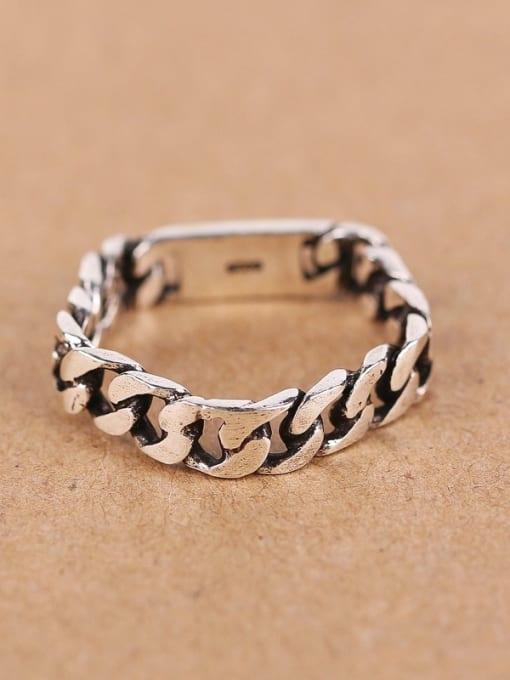 Peng Yuan Personalized Chain shaped Pentagon Midi Ring 0