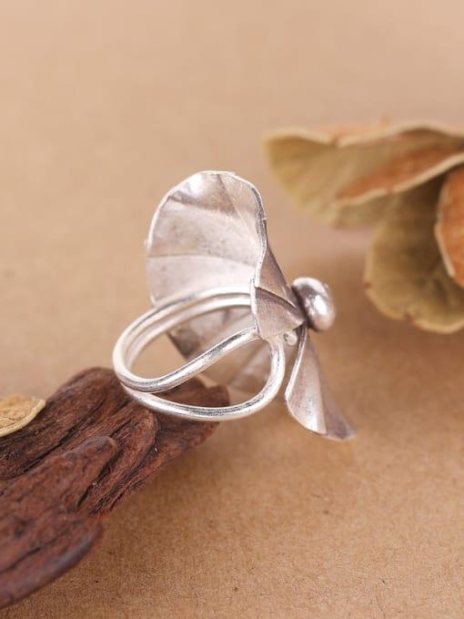 Peng Yuan Ethnic style Thai Silver Ring 2