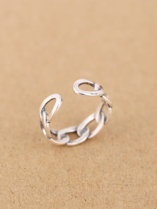 Peng Yuan Fashion Woven Chain Opening Ring 2