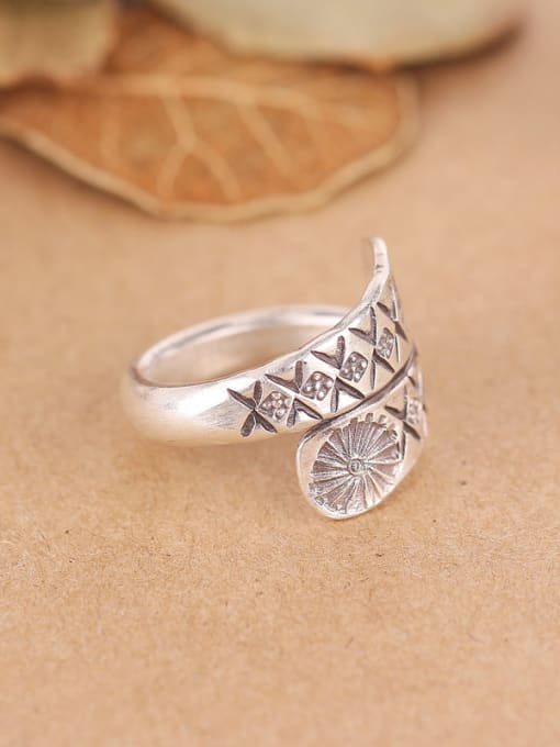 Peng Yuan Personalized Sterling Silver Handmade Ring 1