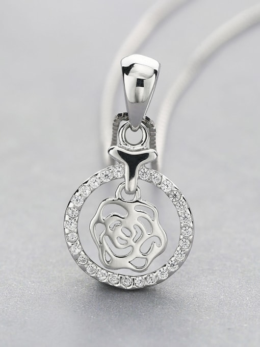 One Silver S925 Silver Necklace 3