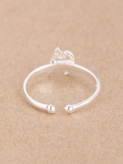 Peng Yuan Simple Little Puppy Opening Midi Ring 2