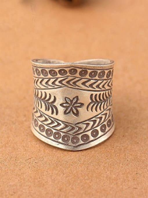 Peng Yuan Ethnic style Silver Handmade Ring