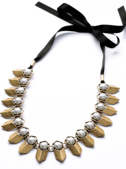 KM Punk Fashion Luxury Women Necklace 1