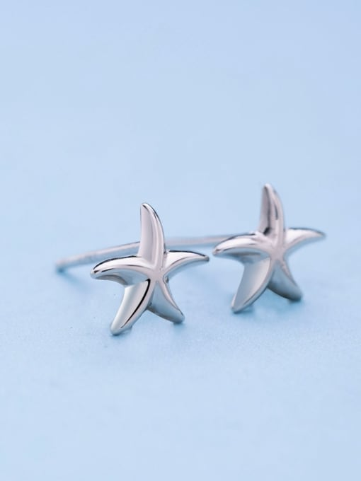 One Silver Fashionable Star Shaped Stud cuff earring 3