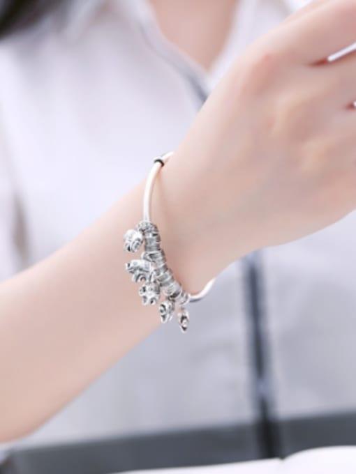 Peng Yuan 2018 Personalized Little Elephants Opening Bangle 1