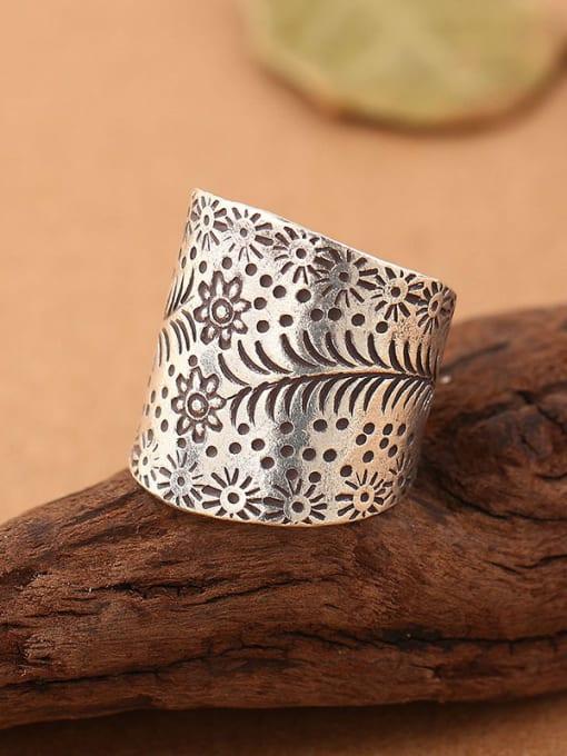Peng Yuan Thai style Handmade Silver Ring 1