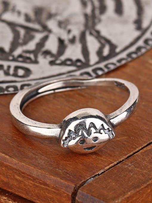 Peng Yuan Personalized Chibi Maruko Silver Ring 1
