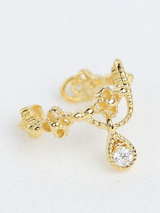 Peng Yuan Classical Gold Plated Clip On Earrings