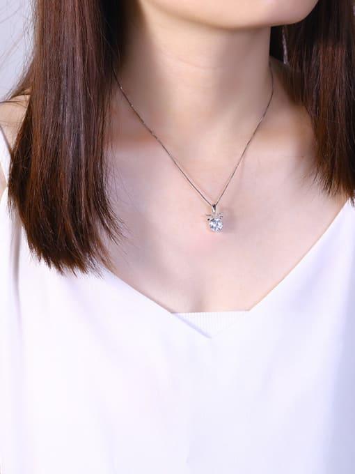 One Silver Fashion 925 Silver Geometric Pendant 1