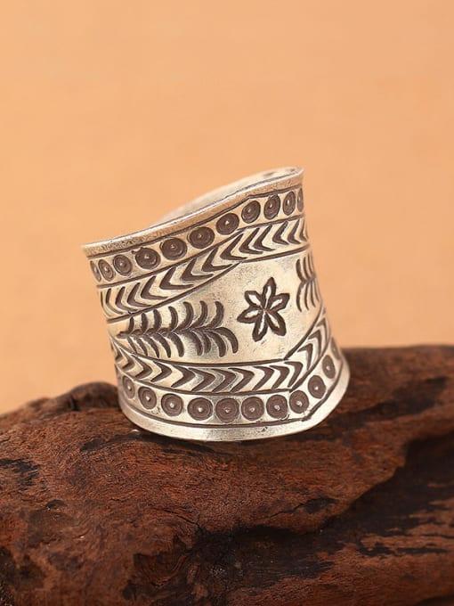 Peng Yuan Ethnic style Silver Handmade Ring 1