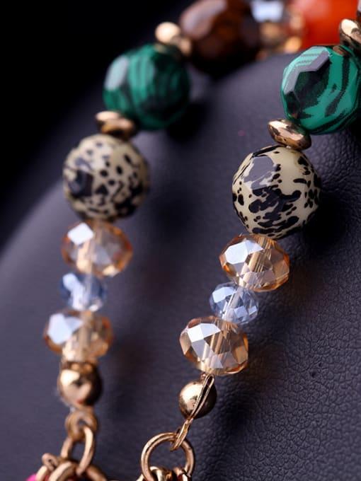 KM Colorful Tassel Women Alloy Bracelet 2