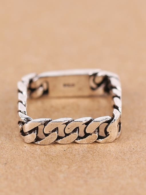 Peng Yuan Personalized Square Ring 0