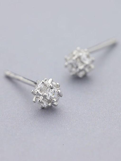 One Silver 925 Silver Multi Corner Shaped cuff earring 0