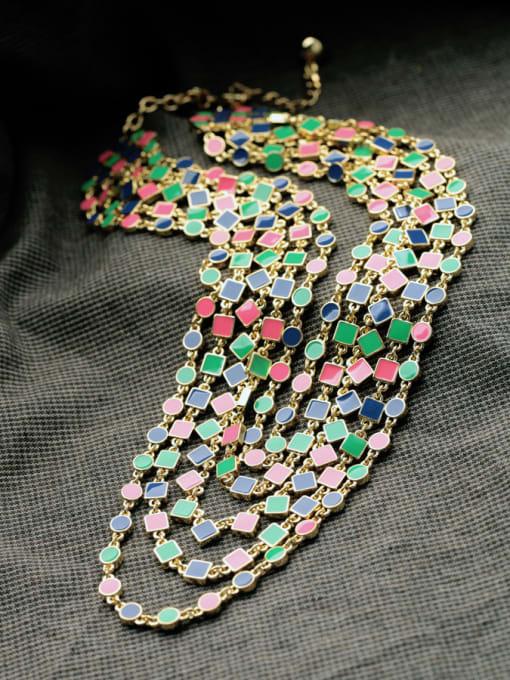 KM Luxury Multi-layer Lady's Necklace 2