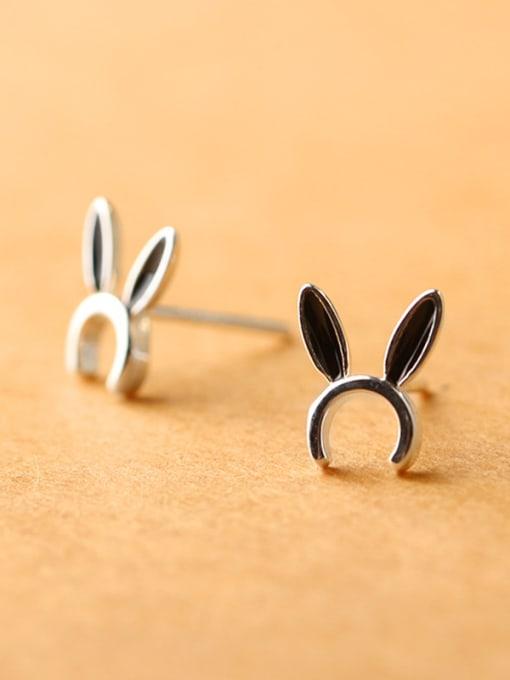 Peng Yuan Tiny Bunny Ears stud Earring 1